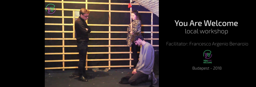 "VIDEO   –    Forum Theatre / Playback Theatre: ""You are Welcome"" project"
